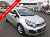 Look at this 2014 Kia Rio . Its transmission and
