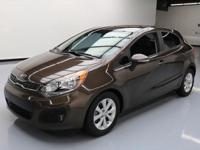 2014 Kia Rio with 1.6L I4 DI Engine,Automatic