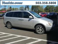 WOW!!! Check out this. 2014 Kia Sedona EX Silver 3.5L