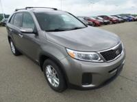 Come see this 2014 Kia Sorento LX. Its Automatic