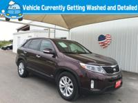 Introducing the 2014 Kia Sorento! It offers the latest
