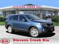 Options:  2014 Kia Sorento Ex Sport Utility|Blue|V6 Gdi