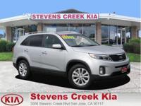 Options:  2014 Kia Sorento Ex Sport Utility|Silver|V6