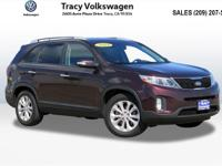 Options:  2014 Kia Sorento Ex|Red|New Price! Carfax