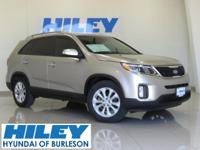 2014 Kia Sorento EX 3.3L V6 FWD. Automatic. Leather.