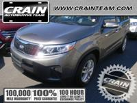Looking for a clean, well-cared for 2014 Kia Sorento