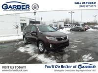 2014 Kia Sorento LX! Featuring a 2.4L 4 cyls and only