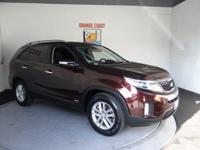 Options:  2014 Kia Sorento Lx|Dark Cherry/|V4 2.4 L
