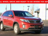 Sorento Kia 2014 6-Speed Automatic with Sportmatic AWD