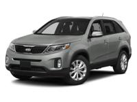 Kirby Kia is proud to offer this 2014 Kia Sorento LX.