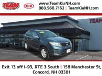 Kia Sorento LX 2014 Wave Blue Certified. Clean CARFAX.