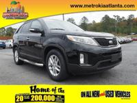 You'll love the look and feel of this 2014 Kia Sorento