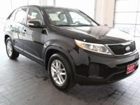 Options:  2014 Kia Sorento Lx|Black|**Carfax 1 Owner**