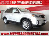 2014 Kia Sorento LX. One owner and very clean