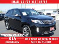 SPRING SAVINGS EVENT! Certified. Sorento Clean CARFAX.