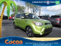 This 2014 Kia Soul Exclaim in Green features: Clean