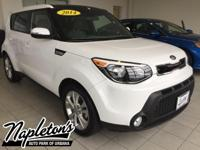 Recent Arrival! 2014 Kia Soul in White, AUX CONNECTION,