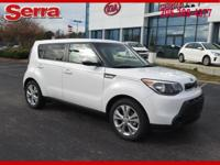Clear White 2014 Kia Soul Plus FWD 6-Speed Automatic