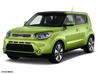 Get ready to go for a ride in this 2014 Kia Soul +,