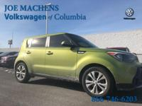 Green 2014 Kia Soul Plus FWD 6-Speed Automatic 2.0L