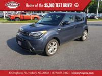 Fathom Blue 2014 Kia Soul Plus FWD 6-Speed Automatic I4
