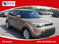 2014 Kia Soul Plus Latte Brown CarFax 1 Owner, 17 x