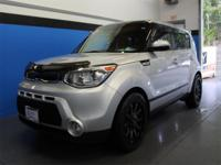 Bright Silver 2014 Kia Soul Exclaim FWD 6-Speed
