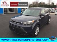 Options:  2014 Kia Soul Plus|Blue|**  1 Owner|Clean Car