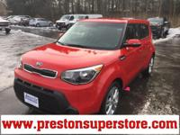 Options:  2014 Kia Soul Plus|Red|1 Owner Clean Car Fax
