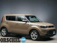 Brown 2014 Kia Soul Plus with new tires!Here at the