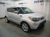 + trim. Kia Certified, CARFAX 1-Owner. EPA 31 MPG