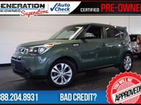 Kia Certified and Kale Green. Heated door mirrors.