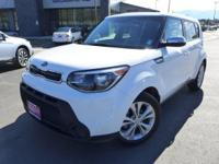 Options:  2014 Kia Soul Plus|White|6 Speakers|Am/Fm