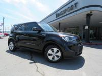 CARFAX One-Owner. Clean CARFAX. Ebony Black 2014 Kia