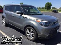 Recent Arrival! 2014 Kia Soul in Gray, AUX CONNECTION,