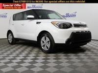 CARFAX One-Owner. Clean CARFAX. Clear White 2014 Kia