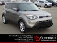 CARFAX One-Owner. Clean CARFAX. Titanium Gray 2014 Kia