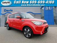CARFAX One-Owner. Clean CARFAX. Inferno Red 2014 Kia