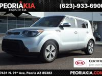 This is a dealer certified 2014 Kia Soul Base model