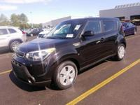 Shadow Black 2014 Kia Soul FWD 6-Speed Automatic 1.6L