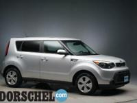Bright Silver 2014 Kia Soul with New Tires and16' Alloy