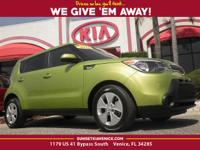 **KIA CERTIFIED**, **4CYL - ALL THE POWER - HATES