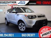 6-Speed Manual, Bright Silver, and 2014 Kia Soul. 6