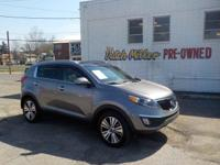 Safe and reliable, this Used 2014 Kia Sportage EX lets