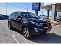 We are excited to offer this 2014 Kia Sportage. This