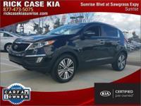 2014 Kia Sportage EX in Black, Roadside Assistance, 10