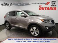 Options:  2014 Kia Sportage Ex|Mineral Silver/Black|V4