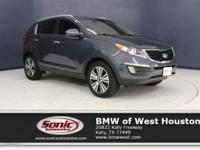 This 2014 Kia Sportage EX has a Certified Clean Carfax,