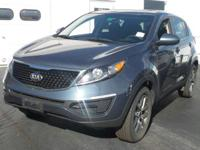 Delivers 26 Highway MPG and 19 City MPG! This Kia