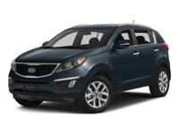 Classy!!! This superb Sportage, with its grippy AWD,
